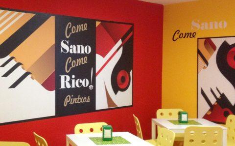 Come Sano Foto Mural